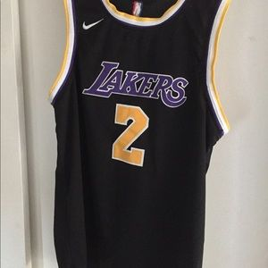 Swingman Authentic Lonzo Ball Lakers Jersey